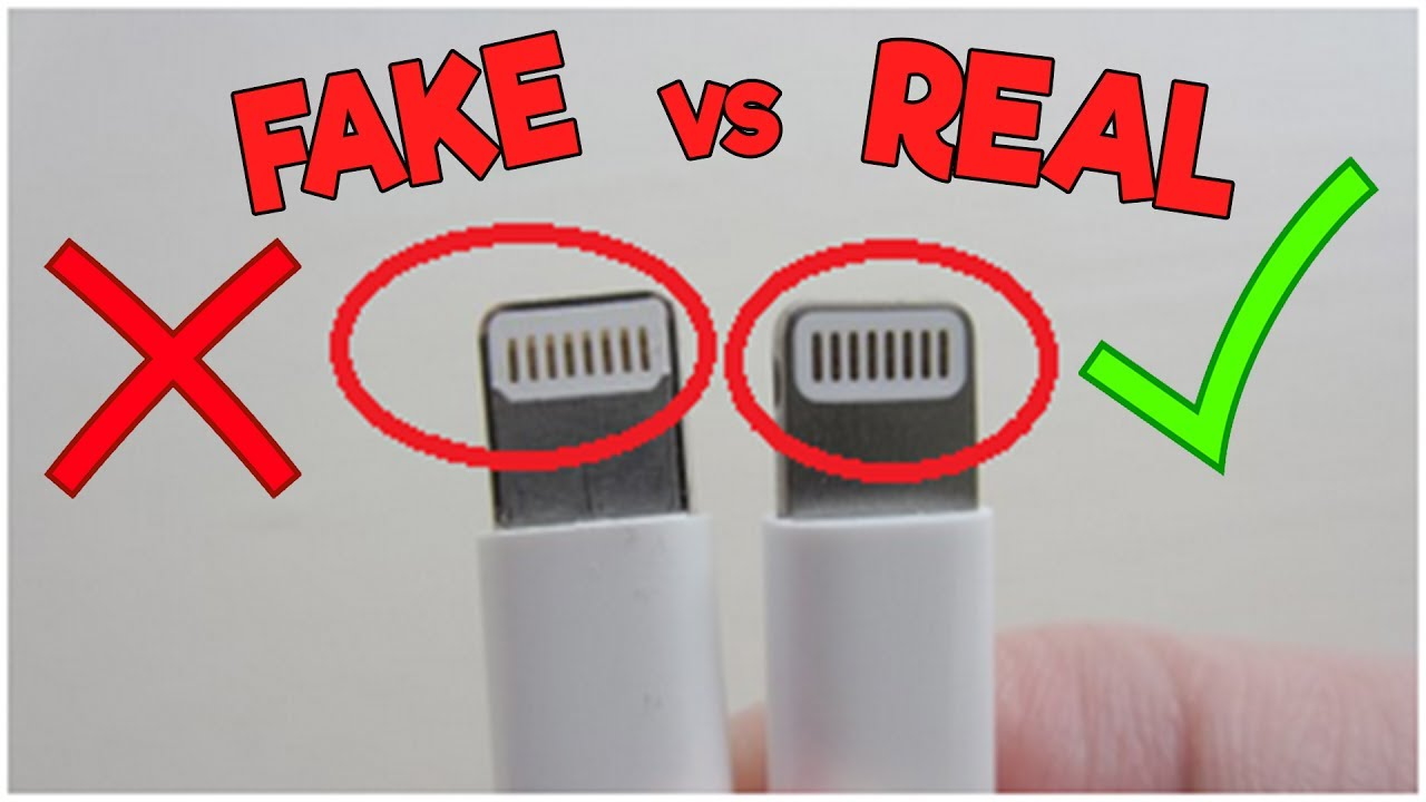 How to Identify a Fake and Original iPhone Charger